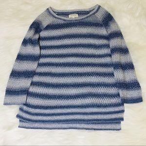 Anthropologie Blue Ombré Knit Sweater!